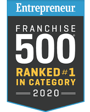 Entrepreneur Franchise ranked #1 in category 2020